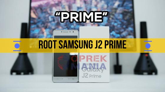 Cara-root-samsung-j2-prime