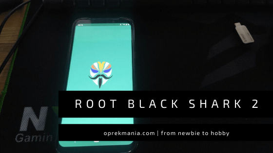 cara root black shark 2