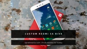 CUSTOM REDMI 5a RIVA