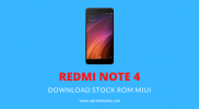 Download dan Install Stock ROM Xiaomi Redmi Note 4